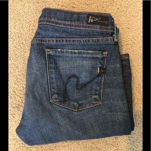 Citizens of Humanity Low Waist Flare Jeans 29
